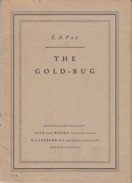 The Gold-Bug (In Englisch)